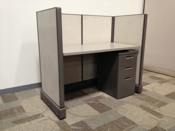 Pre owned Herman Miller 2.5x4 Call Center Cubicles1