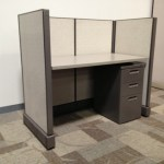 Pre owned Herman Miller 2.5×4 Call Center Cubicles1