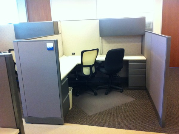 Used Allsteel Consensys 7x7 cubicles1