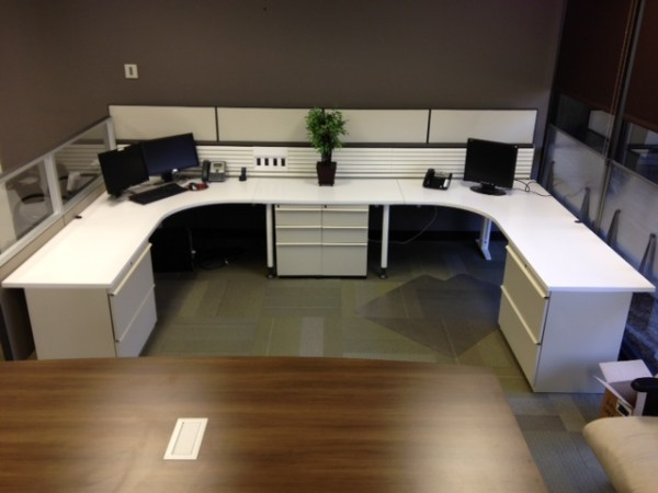 Used Knoll Currents and Morrison Cubicles2