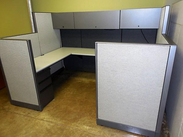 Like New Knoll Morrison Workstations 6X81