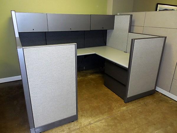 Like New Knoll Morrison Workstations 6X87