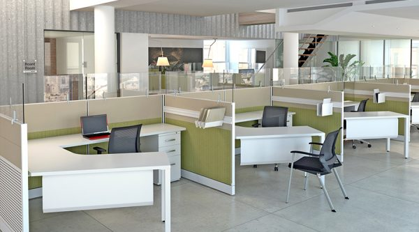Benefits Of An Open Office Cubicle Concept Used Cubicles