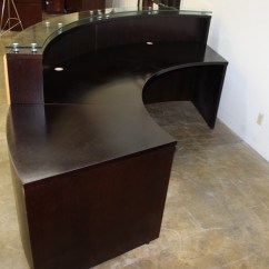 Herman Miller Used Office Chairs Cool Bedroom Reception Desk / Custom Built | Cubicles