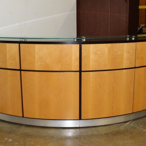 Used Reception Desk Custom Built4