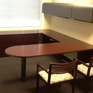 Used Knoll Reff Desk Set