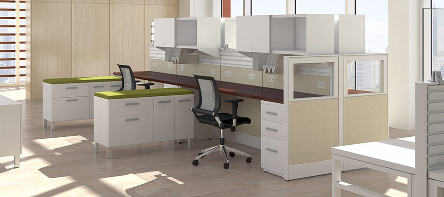 Friant Interra Cubicles