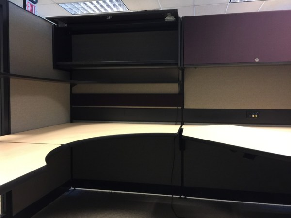 Haworth Places 8x8 and 8x6 cubicles