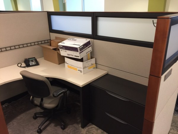 Haworth Premise 8x8 and 8x7 Cubicles