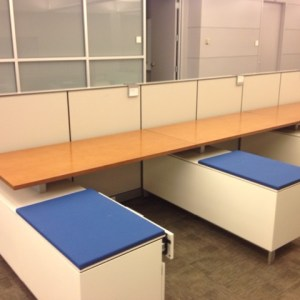 Herman Miller Vivo Benching Cubicles