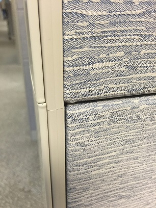 """Teknion 7 x 5 Cubicle 66"""" H panels - Non Powered - Sold"""