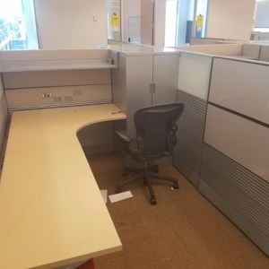 Herman Miller Ethospace Cubicles for Sale