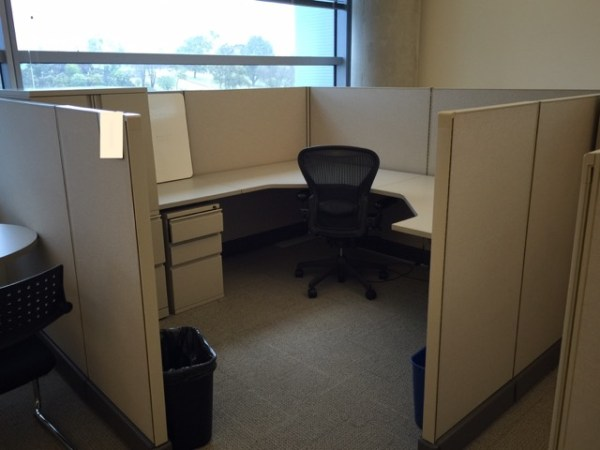 Herman MIller AO2 Cubicles with Tower