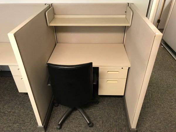 "Herman Miller AO2 7x7 cubicles, 54"" High"
