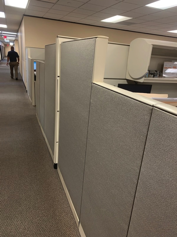 haworth premise cubicles for sale 8x6 8x7 2