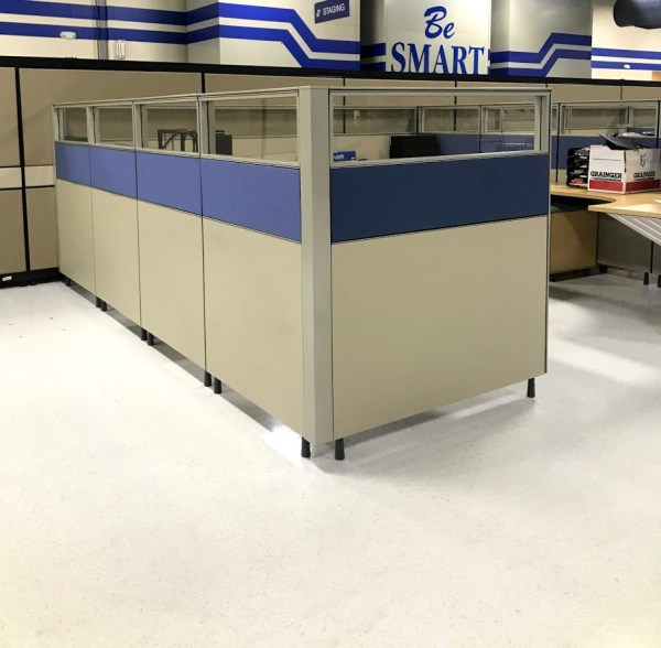 herman miller canvas cubicles 6x8 or 7x7 3