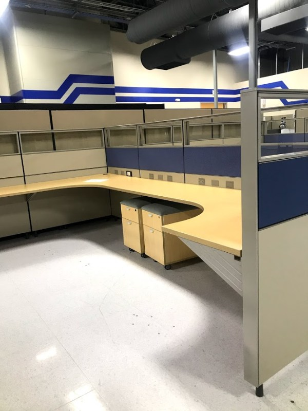 herman miller canvas cubicles 6x8 or 7x7 5