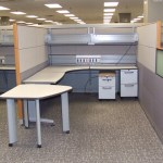 knoll currents cubicles loaded with tall walls 3