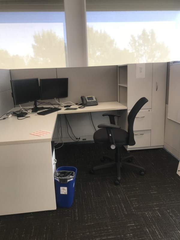 steelcase answer cubicles w tower free task chair 7