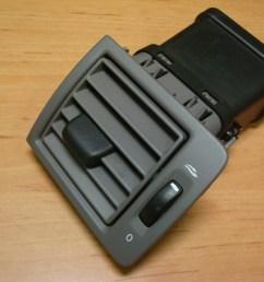 volvo s40 v50 dash air vent adjust left driver side article 30715098 37 30715098  [ 2048 x 1536 Pixel ]