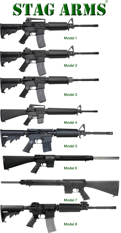 Stag AR-15 Models in Detail