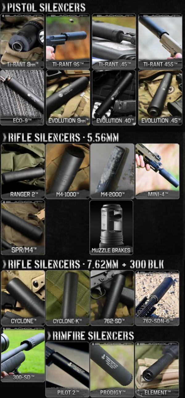 Advanced Armament Silencers and Suppressors