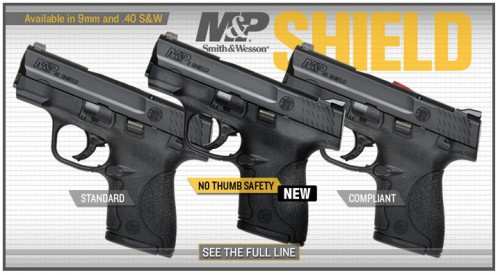 M&P Shield with Thumb Safety