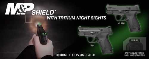 NEW M&P® Shield™ Tritium Night Sights