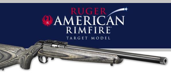 Ruger  American Rimfire target model