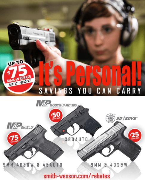Smith and Wesson Rebate