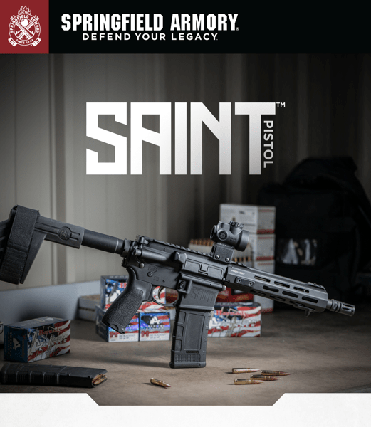 New SAINT™ AR-15 Pistol in .300 BLK