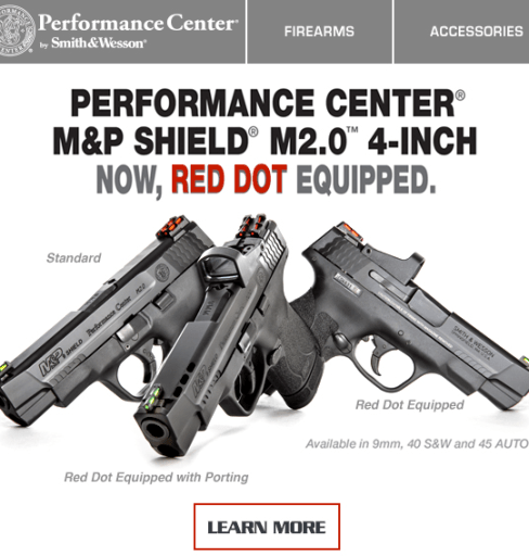 Red Dot Sites on M&P Shield M2
