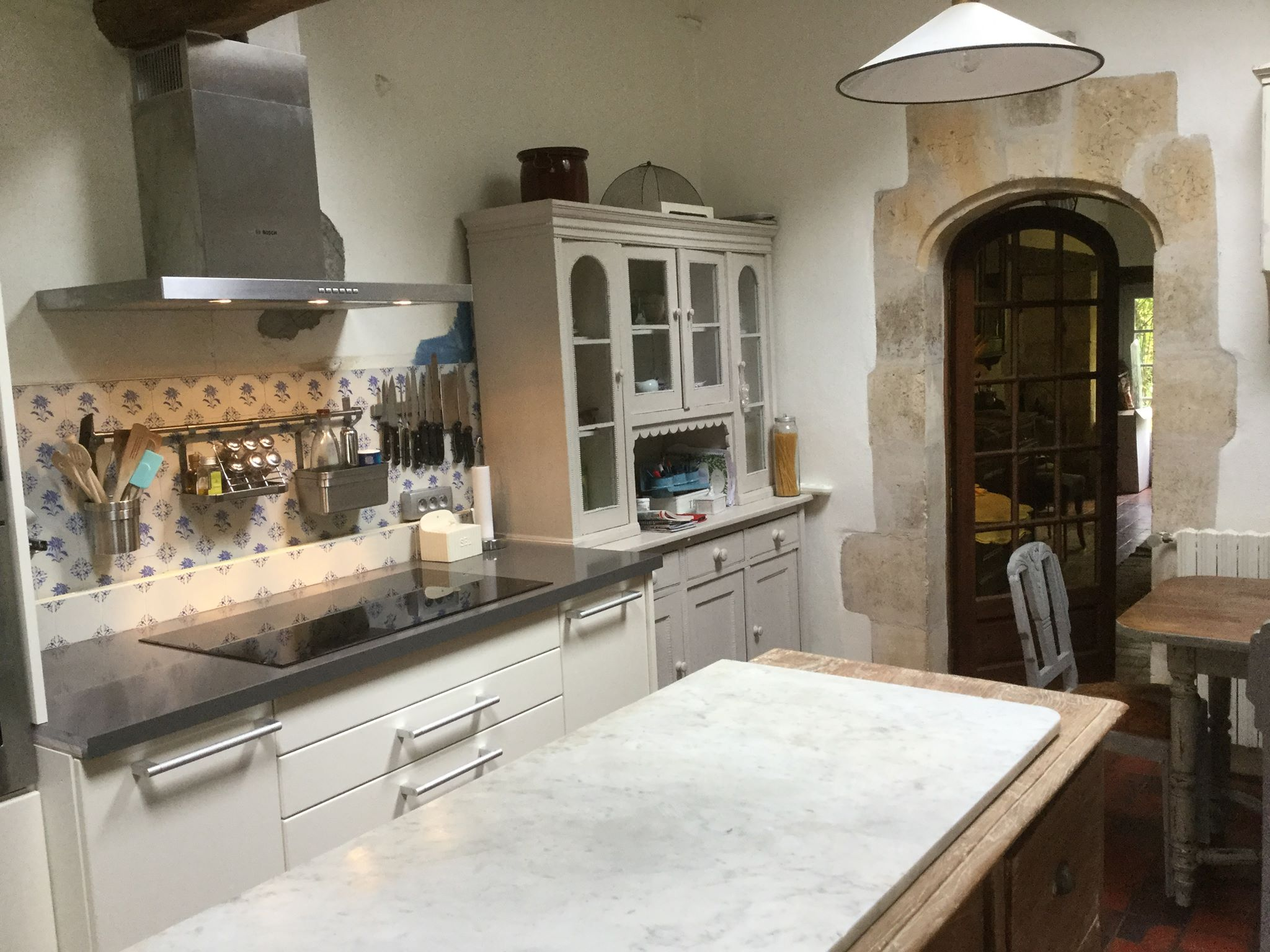 Poggenpohl kitchen island marble