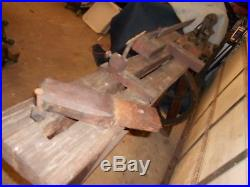 Antique Wood Lathe Tools