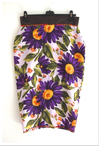 Dolce Gabbana Floral Skirt http://www.usednotconfused.com
