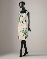 Dolce Gabbana Rose Print Dress http://www.dolcegabbana.com