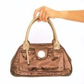 Blugirl by Blumarine Golden Handbag