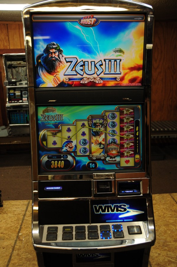 Williams Bluebird 2 Zeus III Used Slot Machine by Used Slot Machines