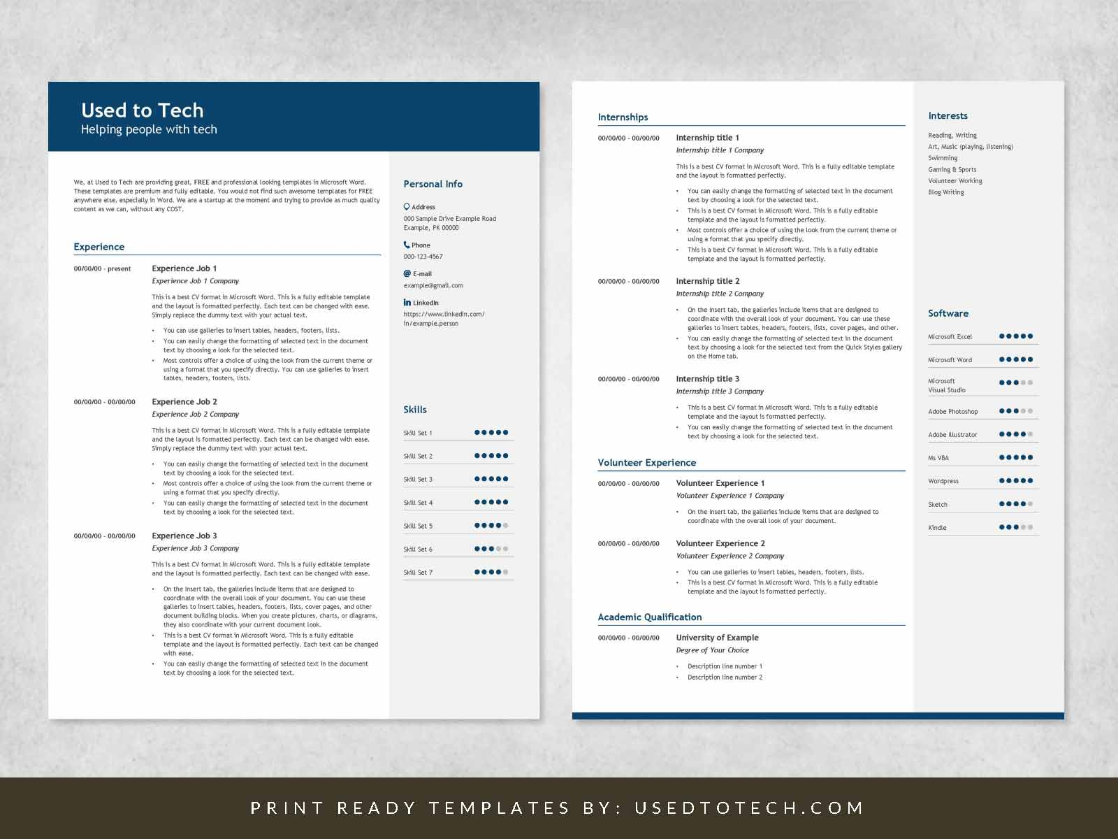where to find resume template on word