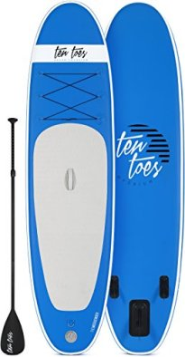 best inflatable fishing paddle board