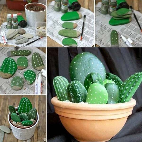 16 Simply Beautiful DIY Projects With Stone and Rocks Torn From Fairy Tales usefuldiyprojects landscaping decor (9)