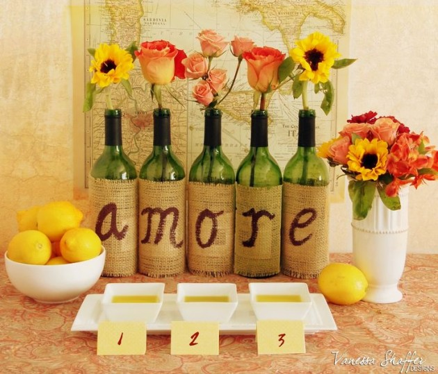 17 Fascinatingly Beautiful DIY Wine Bottle Crafts To Accessorize Your Decor usefuldiyprojects.com (11)