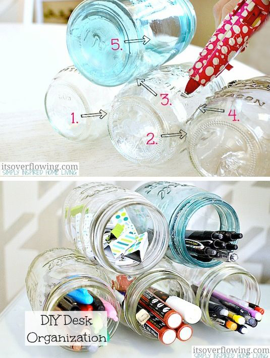 18 Brilliantly Ingenious Storage Ideas and Organizers to Declutter Your Room dorm room ideas usefuldiyprojects (1)