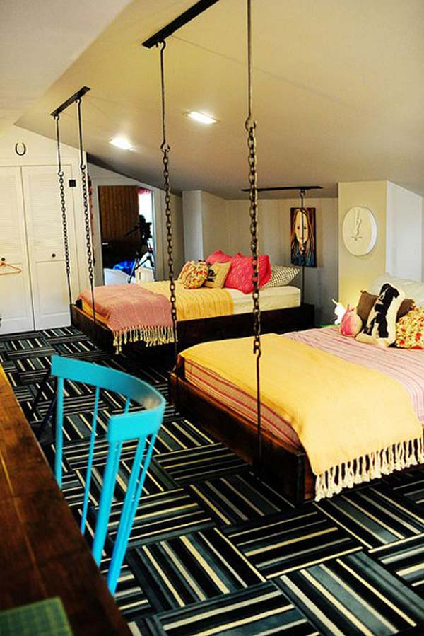 21 Smart and Creative Girl and Boy Shared Bedroom Design Ideas  usefuldiyprojects.com design ideas (2)