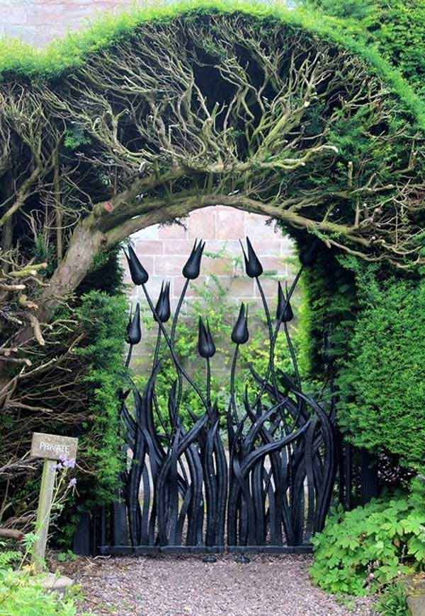 22 Insanely Charming Garden Gate DIY Projects Protecting ...