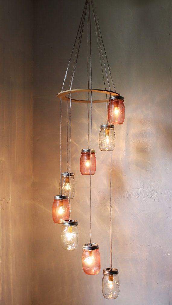 22 Beautiful Simple DIY Lighting Fixtures Ideas