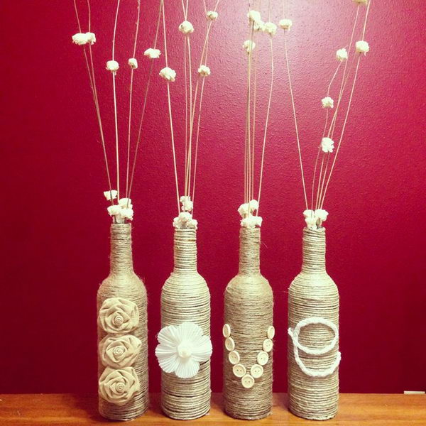 26 Highly Creative Wine Bottle DIY Projects to Pursue usefuldiyprojects.com (18)