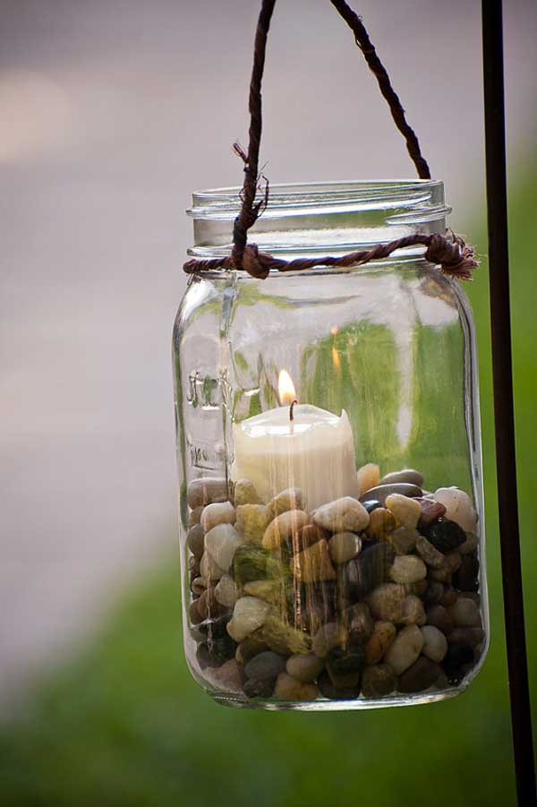 27 Magnificent and Splendid Hanging Mason Jars DIY Projects Beautifying The World usefuldiyprojects.com decor ideas (6)