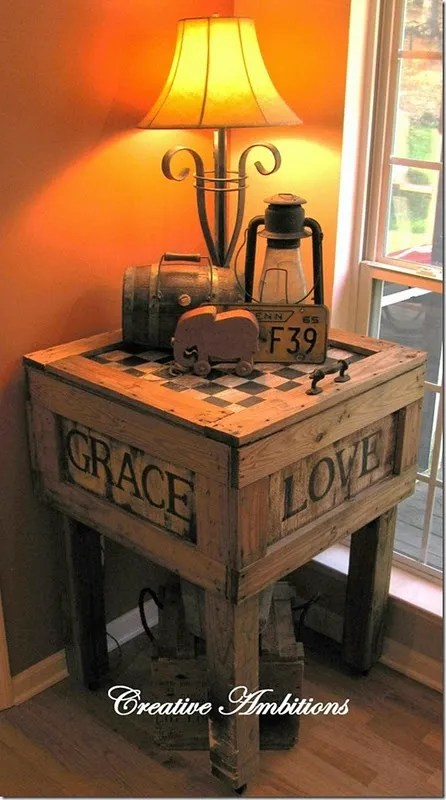 29 Ways To Be Sustainable by Decorating With Wooden Crates  usefuldiyprojects.com decor ideas (7)