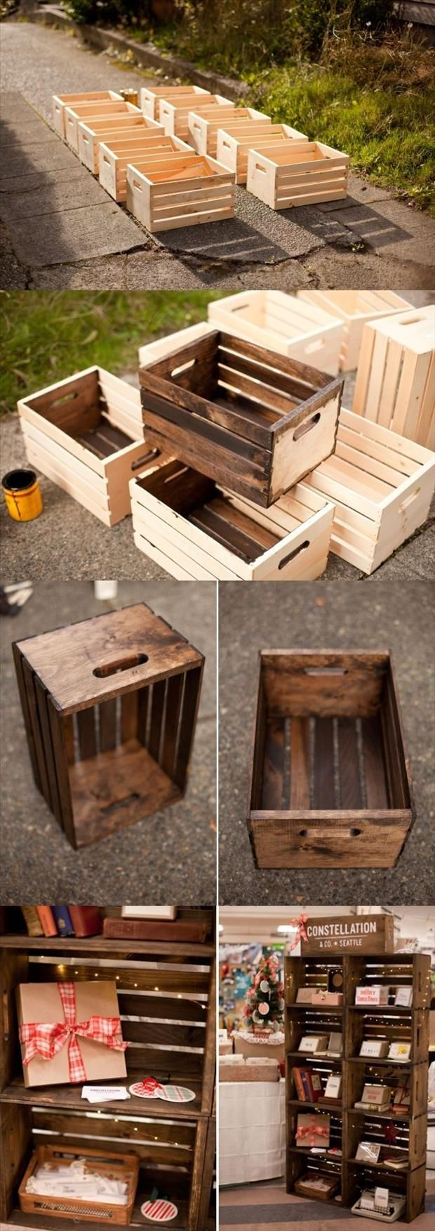 29 Ways To Decorate With Wooden Crates Usefuldiyprojects Decor Ideas 8